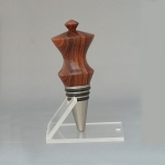 Cocobolo and stainless steel stopper