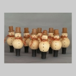 Snowmen Christmas stoppers