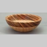 Sycamore and Zebrano bowl
