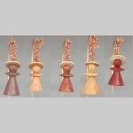 Angel Christmas tree ornaments (various wood)