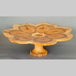 Yew floral tazza